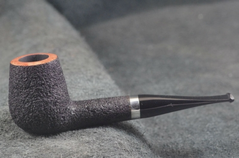 Pipe Pierre Morel NEO. CHUBBY SILVER SITTER ACRYLIQUE 9 mm