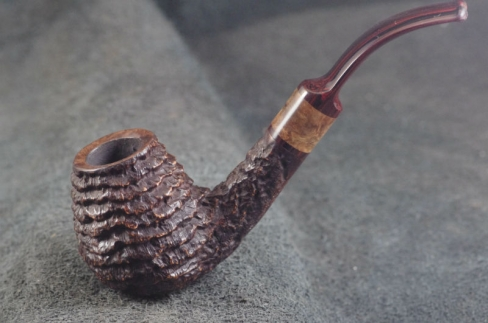Pipe Pierre Morel BENT BRANDY STAB. CUMBERLAND