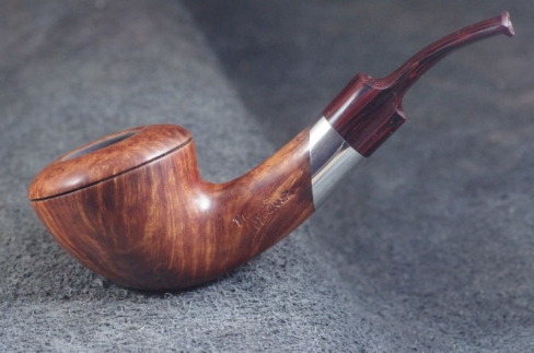 Pipe Pierre Morel RHODESIENNE SILVER LEVEL CUMBERLAND