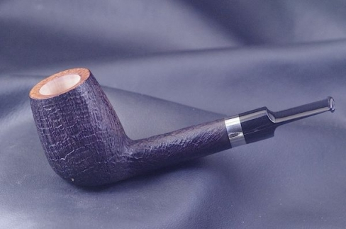 Pipe Pierre Morel Neo black sitter silver