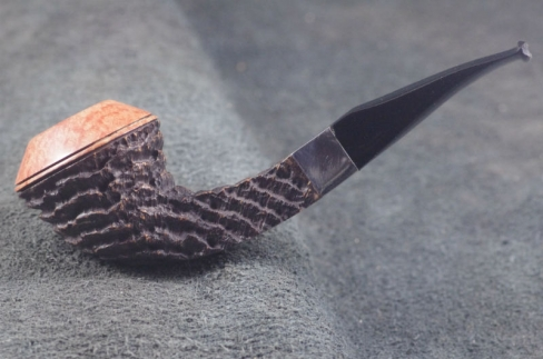Pipe Pierre Morel RHOD. DUO SITTER SILVER LEVEL ACRY.