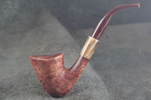 Pipe Pierre Morel DUBLIN AB FULL ROOT SITTER NATURE CORNE CUMBERLAND