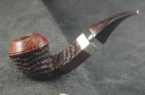 Pipe Pierre Morel HAÏTI DUO FULL SILVER CUMBERLAND