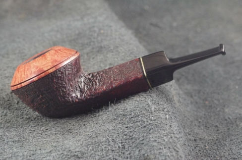 Pipe Pierre Morel FLAT BULLDOG ACRY.