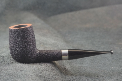 Pipe Pierre Morel NEO. SILVER SITTER EBO FAIT MAIN. 9 mm