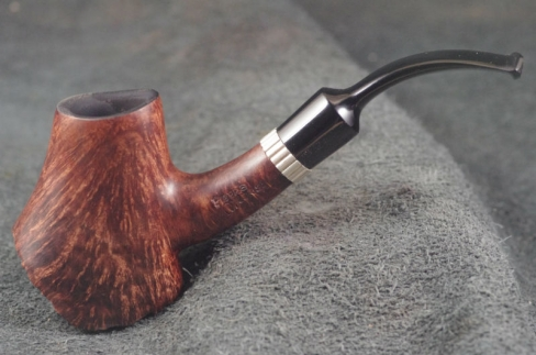 Pipe Pierre Morel VOLCANO ROOT SILVER EBONITE