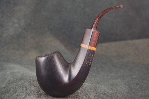 Pipe Pierre Morel BENT PM. jr  FOSSIL CUMBERLAND