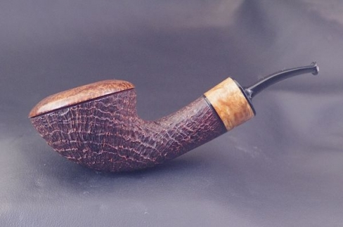 Pipe Pierre Morel Rhodesian acrylique
