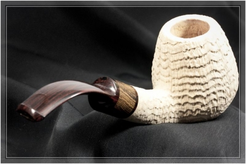 Pipe Pierre Morel Virgin ring grain
