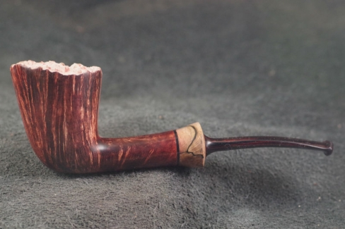 Pipe Pierre Morel FLEUR DUB LIGHT CUMBERLAND