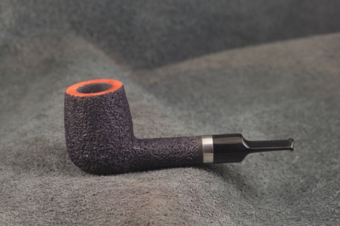 Pipe Pierre Morel SHORT SILVER SITTER ACRY.