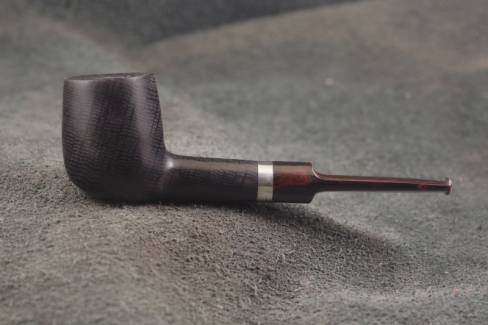 Pipe Pierre Morel NEO FOSSIL SILVER SITTER CUMBERLAND