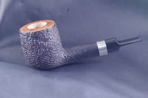 Pipe Pierre Morel Black Chubby silver ebonite