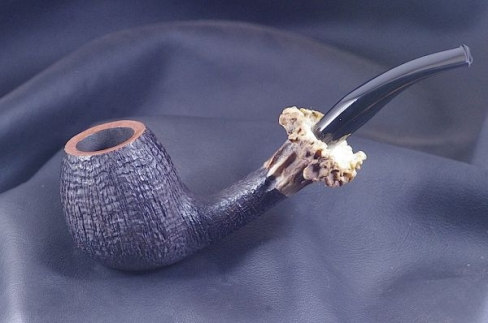 Pipe Pierre Morel Black Doe acrylique