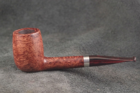 Pipe Pierre Morel NEOGENE  FULL ROOT SILVER CUMBERLAND