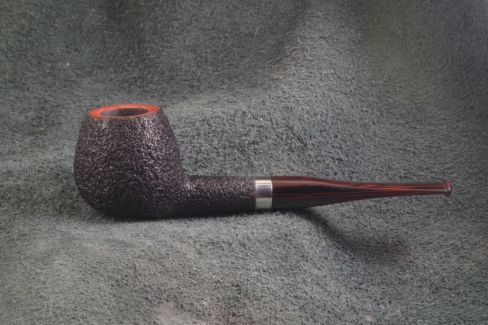 Pipe Pierre Morel BOULE SILVER SITTER CUMBERLAND
