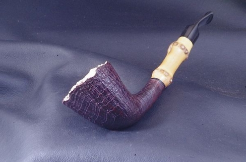 Pipe Pierre Morel Fleur de bambou ebonite