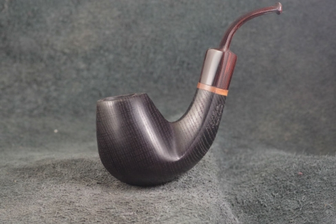 Pipe Pierre Morel BENT FOSSIL PM jr CUMBERLAND