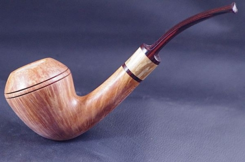Pipe Pierre Morel Pear AAA straight grain cumberland