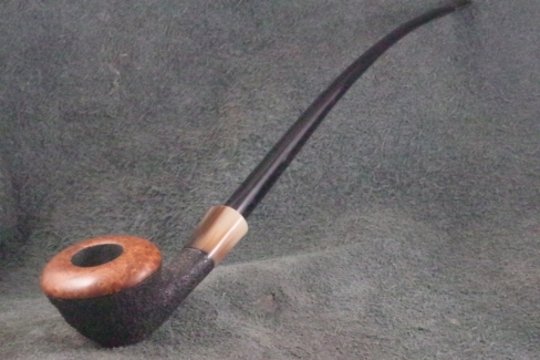 Pipe Pierre Morel CHURCH' CAP DUO CORNE EBONITE