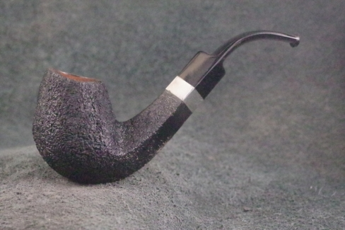 Pipe Pierre Morel BENT PM jr SILVER LEVEL ACRYLIQUE