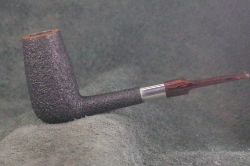 Pipe Pierre Morel CHIMNEY SILVER SITTER CUMBERLAND