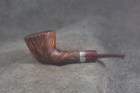 Pipe Pierre Morel PAUSE CAFE SILVER CUMBERLAND