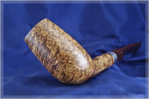 Pipe Pierre Morel Cumberland Silver Saddle