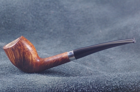 Pipe Pierre Morel CUTTY SILVER FL.GRAIN EBO
