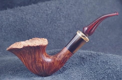 Pipe Pierre Morel AA SITTER STRAIGHT GRAIN CUMBERLAND