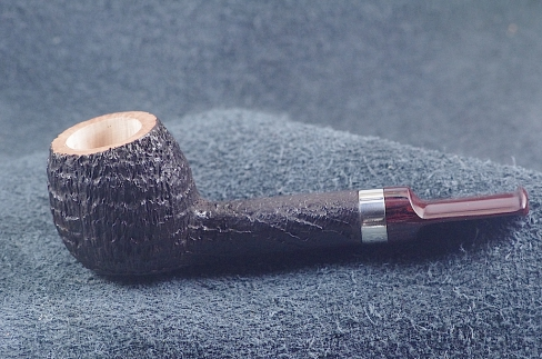 Pipe Pierre Morel BOULE AA SILVER SITTER CUMBERLAND