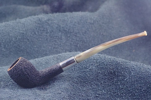 Pipe Pierre Morel CUTTY SILVER SITTER CORNE