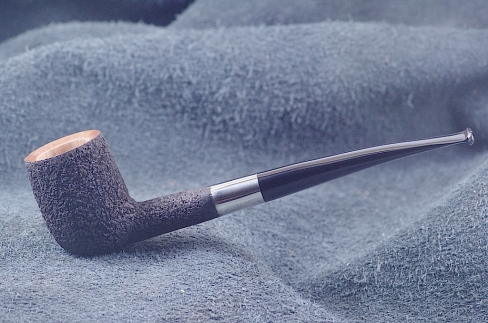 Pipe Pierre Morel B.SHAPE SILVER EBO.