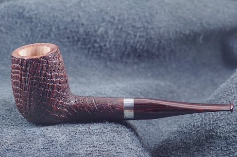 Pipe Pierre Morel NEO RINGS AA SIVER CUMBERLAND.