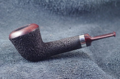 Pipe Pierre Morel DUB SHORT SILVER CUMBERLAND