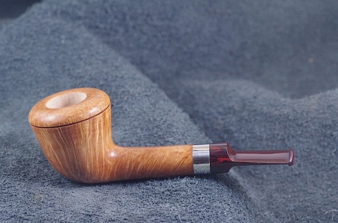 Pipe Pierre Morel DUBLIN SHORT AA  SILVER CUMBERLAND