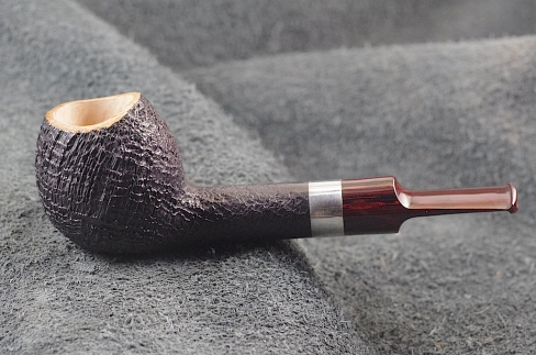 Pipe Pierre Morel BOULE AA SILVER CUMBERLAND