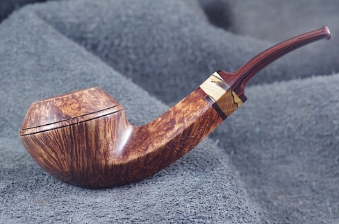 Pipe Pierre Morel HAÏTI STRAIGHT GRAIN CUMBERLAND