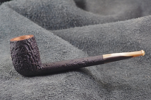 Pipe Pierre Morel CAN LIGHT  BLACK RAPTOR CORNE