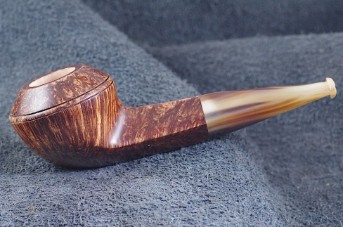 Pipe Pierre Morel BULLDOG STR.GRAIN CORNE