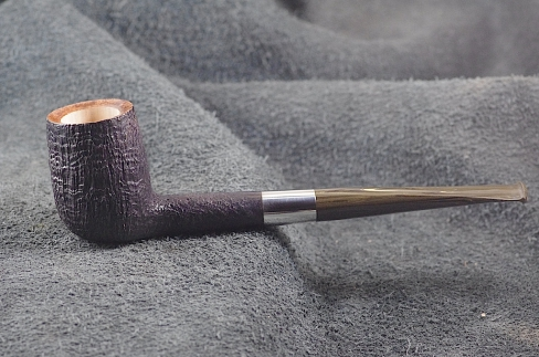 Pipe Pierre Morel BLACK B.SHAPE SILVER  CUMB.