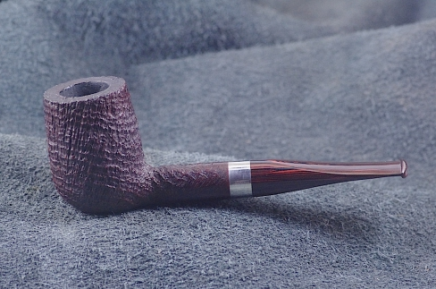Pipe Pierre Morel NEO SITTER SILVER CUMBERLAND