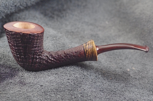 Pipe Pierre Morel LIGHT  BLAST 1/4 BENT CUMB