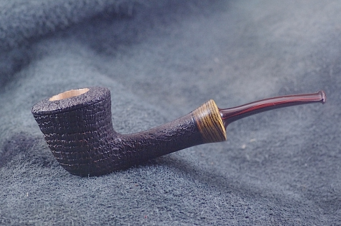 Pipe Pierre Morel DUB LIGHT BLACK  CUMBERLAND