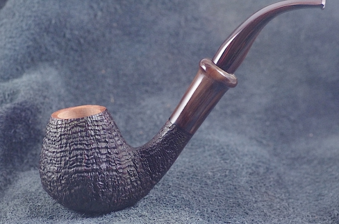 Pipe Pierre Morel BRANDY RING GRAIN CORNE CUMBERLAND.