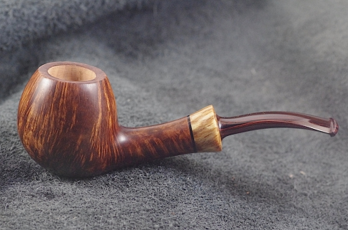 Pipe Pierre Morel BOULE 1/4 BENT LIGHT CUMBERLAND