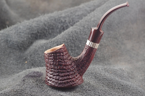 Pipe Pierre Morel VOLCANO AAA SILVER CUMBERLAND