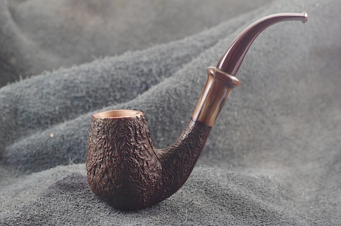 Pipe Pierre Morel BENT RAPTOR CORNE CUMBERLAND