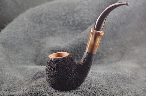 Pipe Pierre Morel EGG FULL BENT CORNE CUMBERLAND