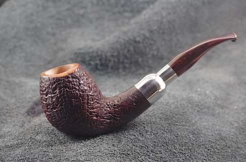 Pipe Pierre Morel EGG AA FULL SILVER CUMBERLAND